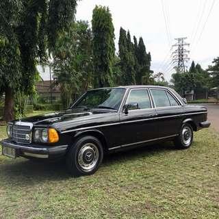 Mercedes benz tiger w123 280E