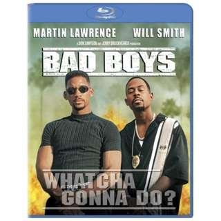 BLU RAY - BAD BOYS (ORIGINAL USA IMPORT)