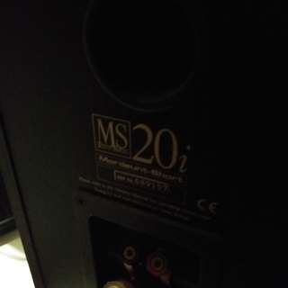 MS20i Speakers x 2