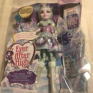 Ever After High Doll ~ Epic Winter ~ SPECIAL EDITION! ~  Crystal Winter