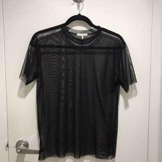 OAK AND FORT mesh tshirt