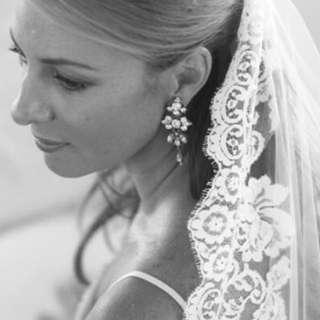 Lace Wedding veil long 結婚長頭紗