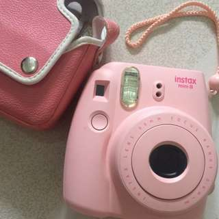 Instax Fujifilm Mini8 with pink cover