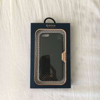 BRAND NEW, IMPORTED, UNUSED (OCCA BRAND) LIMITED EDITION IPHONE 6/6S CASE, CARBONFIBER (BLACK) (UNWANTED GIFT)