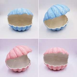 VDAY PROMO: Seashell Ceramic Hideout for chinchilla,guineapig n hamster