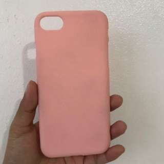 Iphone 7 Soft case - light pink color only