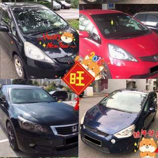 CNY Cars for Rent Promo