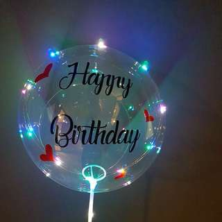 Customised Special LED Balloon