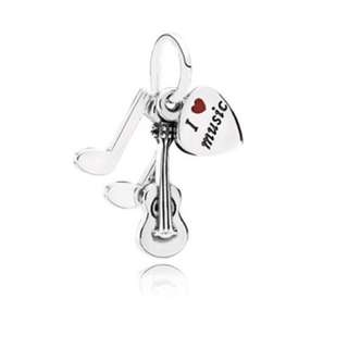 pandora music dangle charm