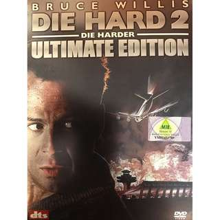 DVD - DIE HARD 2 DIE HARDER 2-DVD ULTIMATE EDITION (ORIGINAL IMPORT JAPAN PRESSED)