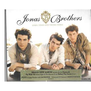 MY CD - JONAS BROTHERS // FREE DELIVERY BY SINGPOST