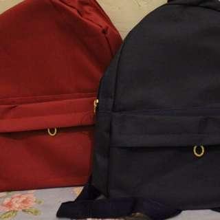 Tas Ransel Mini Backpack Zipper