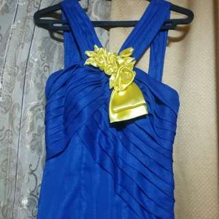 Preloved Royal Blue JS Prom/Bridesmaid Gown