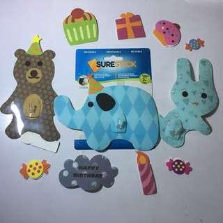 Superstix Room Deco Sticker -Birthday Theme