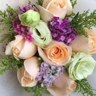 Valentines' Day Hand Bouquet