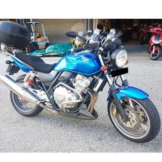 2008 Honda CB400 Revo (COE till Feb 2028)