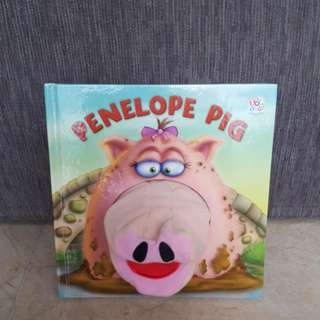 Penelope Pig Board book (Hand Puppet Books) by Volke, Gordon