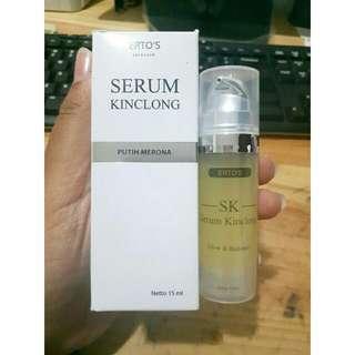 Ertos serum kinclong