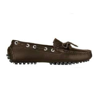 Superga Moccasin Leather Driving Moro 42