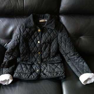 英倫風格黑色外套