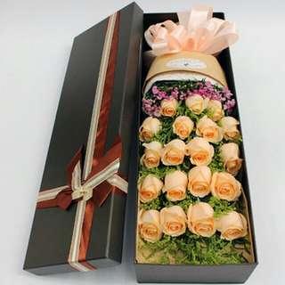 Valentine's Day Vday Rose Fresh Flower Gift V14 - GMTES