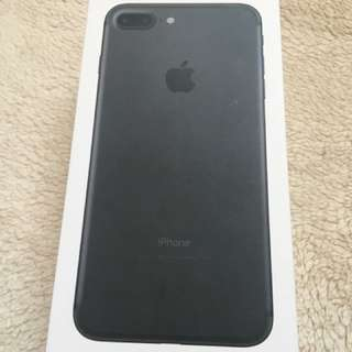 RUSH 30K NEW IPHONE7+ 128GB