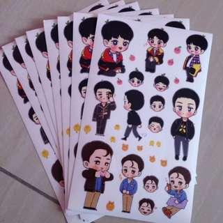 EXO CHANSEKAI FANART STICKERS