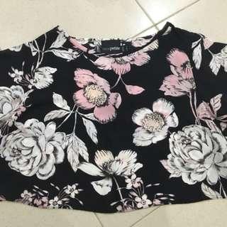 🆕ASOS Petite Floral Crop Top #cny88