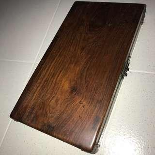 黄花梨木盒