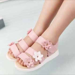 Floral Sandals Kids Girl