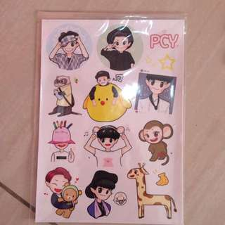 EXO CHANYEOL FANART STICKER