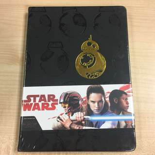 Star Wars Notebook BB8 Design