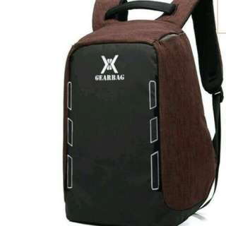 Tas backpack anti theft (anti maling / copet)