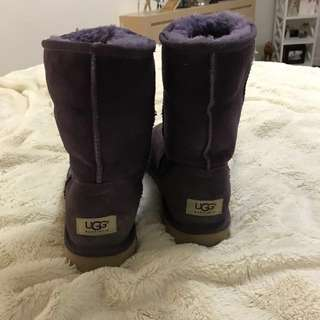 Rare Purple Uggs !