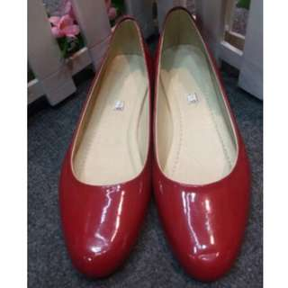 Doll Shoes Red - REPRICED!!!