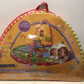 Baby Playgym - Kick and Crawl Deluxe Gym