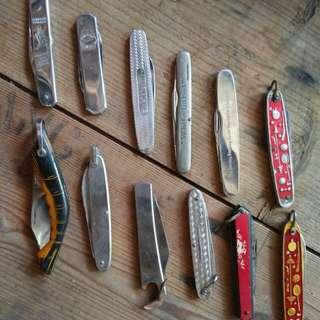 Knife pisau vintage