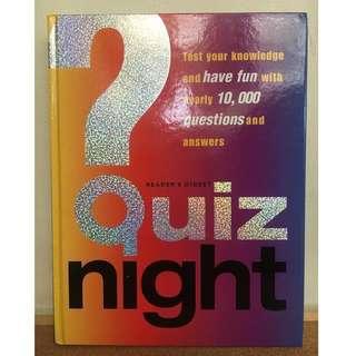 Reader's Digest Quiz Night