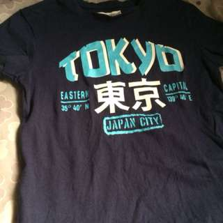 Tokyo shirt for 5-7 years old