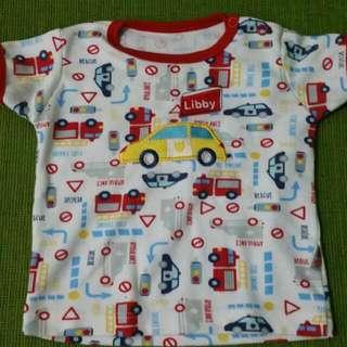 Tee Shirt Kaos Libby 6-9 Bln