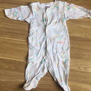 PUMPKIN PATCH SLEEPSUIT