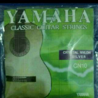 brand new Yamaha classical n acoustic n electric set string FIXED price