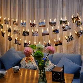 [INSTOCK] Polaroid Clip Fairylight 💕✨🎉🤩