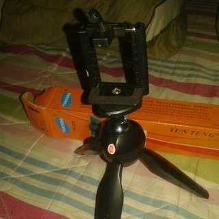 mini tripod selfie
