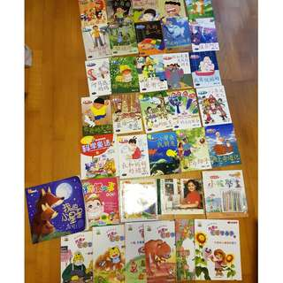 A set of Chinese Books for young children