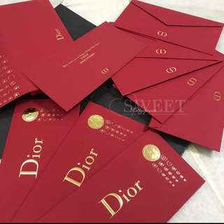 Dior 2018 red packet