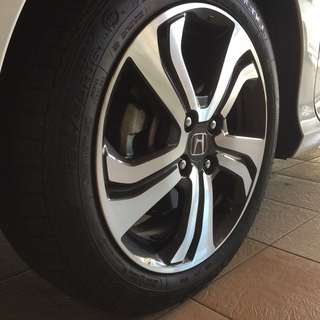 "Honda City 2016 Original V-spec 16"" Rim"