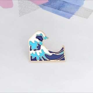 📌 INSTOCK hokusai wave pins 📌