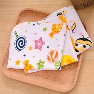 3pc/set newrborn infant face towel