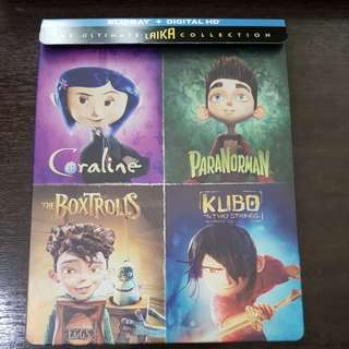 The Ultimate Laika Collection Steelbook Bluray | 4 discs